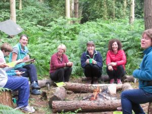 bushcraft and campfire experience