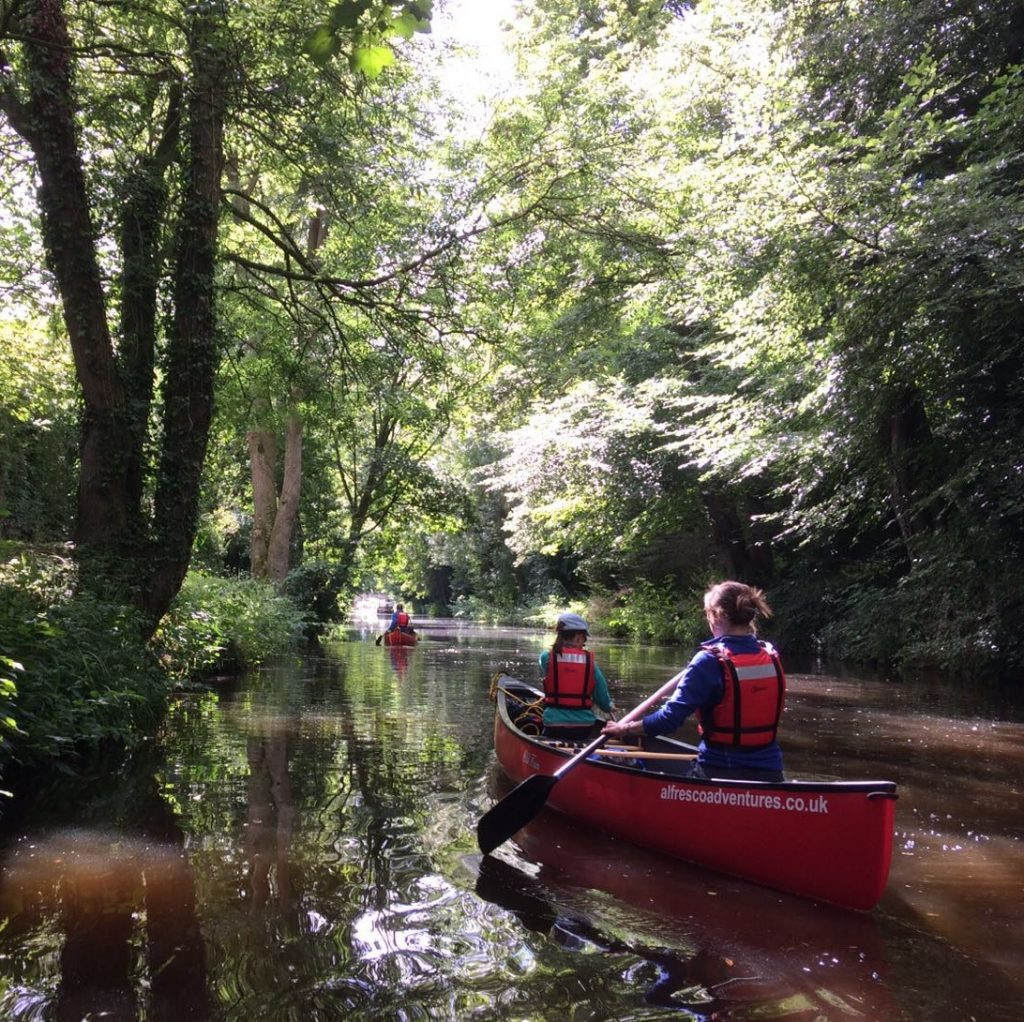 Group Canoeing experience from Ripon to Boroughbridge
