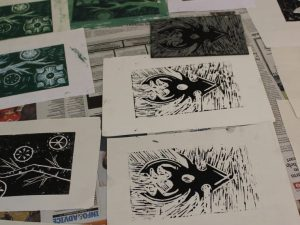 taster art experience day in the Yorkshire Dales