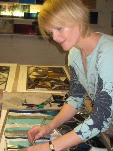 Group Stained Class Course led by Caryl Hallett