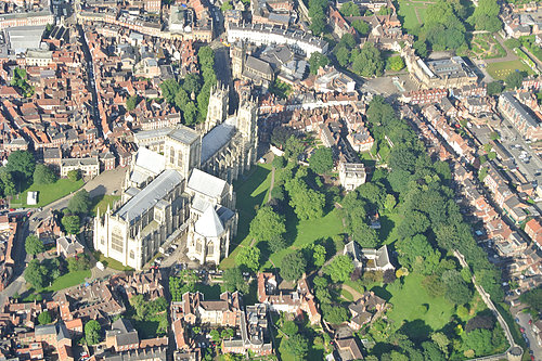 Flight to York Minster