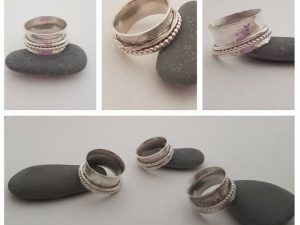 Silver Fidget Ring Jewellery Workshop