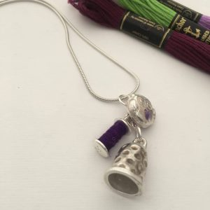 Bobbins, Buttons and Thimbles Silver Jewellery Workshop