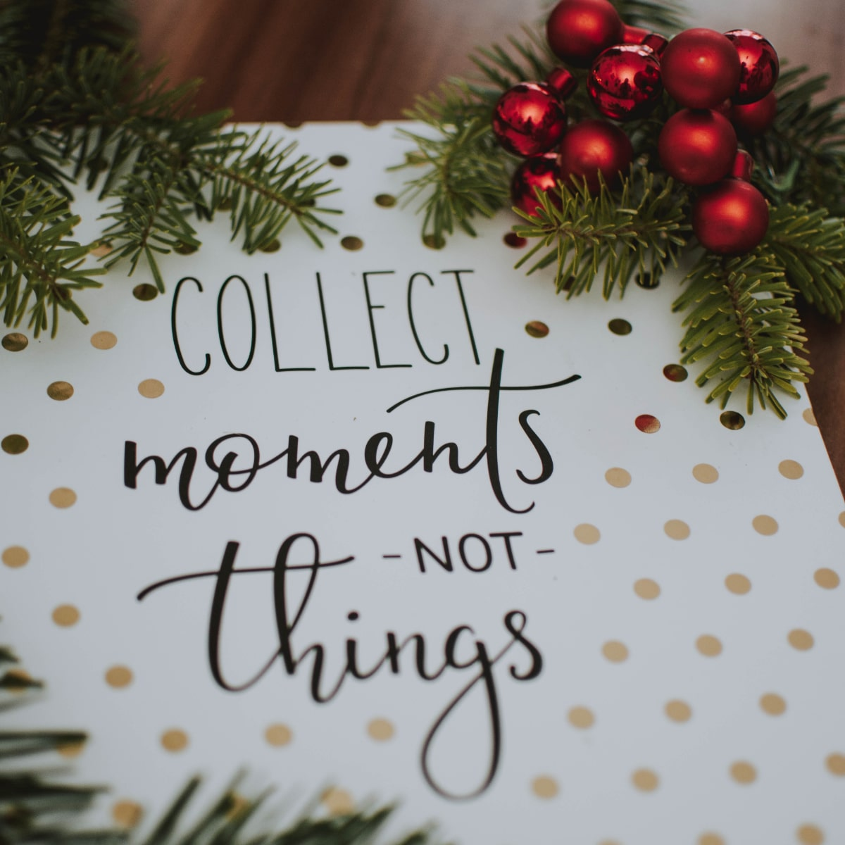 Christmas gift experiences give experiences not stuff