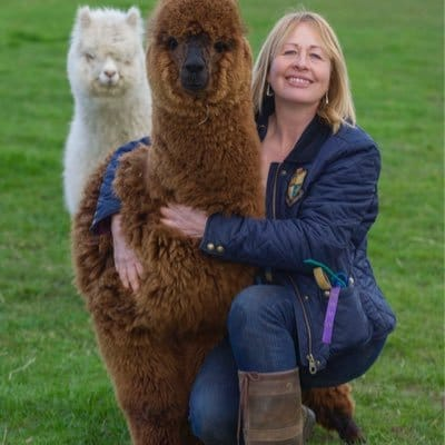 Jackie Barlow from Beacon Alpacas
