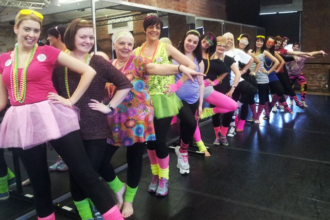 dance experience hen party
