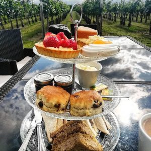 Yorkshire Vineyard Picnic with Afternoon Tea