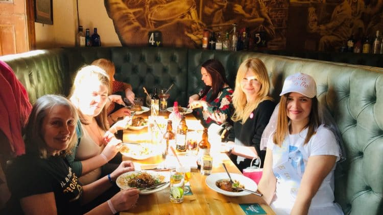 Hen do private food tour