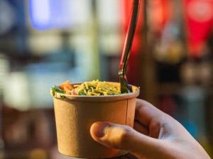 Self-Guided Street Food Tour for Two People in Leeds