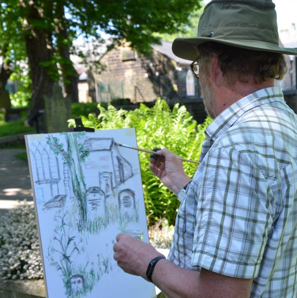 Still Life and Plein-Air Drawing and Painting Experience