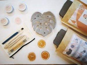 Clay Pottery Kit For Two People - Clay at Home Experience