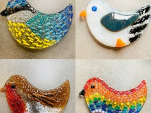 Fused Glass Bird Kits