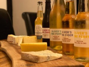 Online Cheese and Cider Tasting