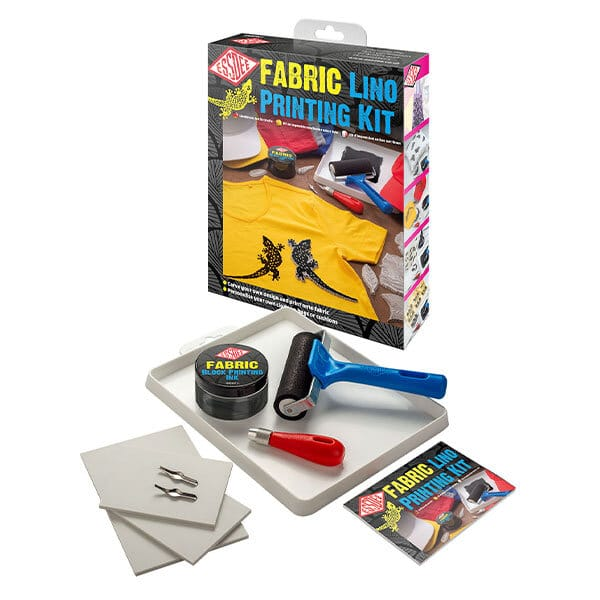 Lino Cutting and Printing Kit for Fabric